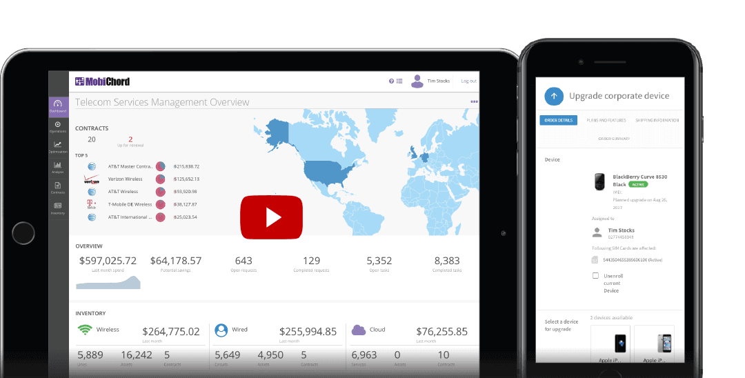Telecom Management powered by ServiceNow