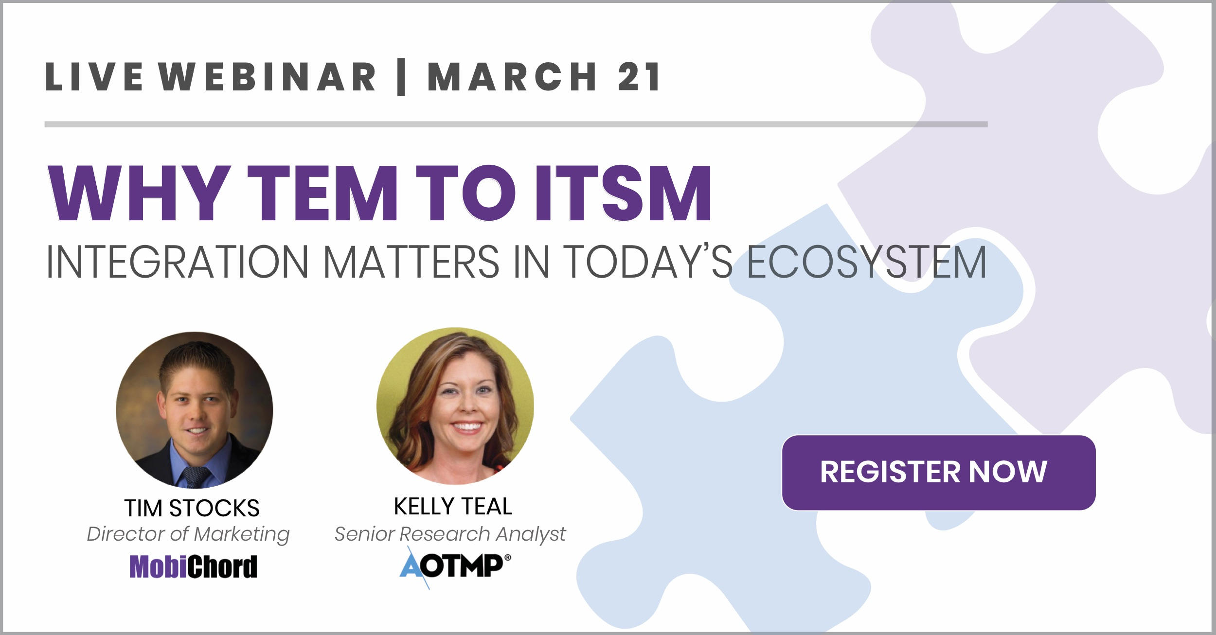 [Live Webinar] Why TEM to ITSM Integration Matters in Today's Ecosystem