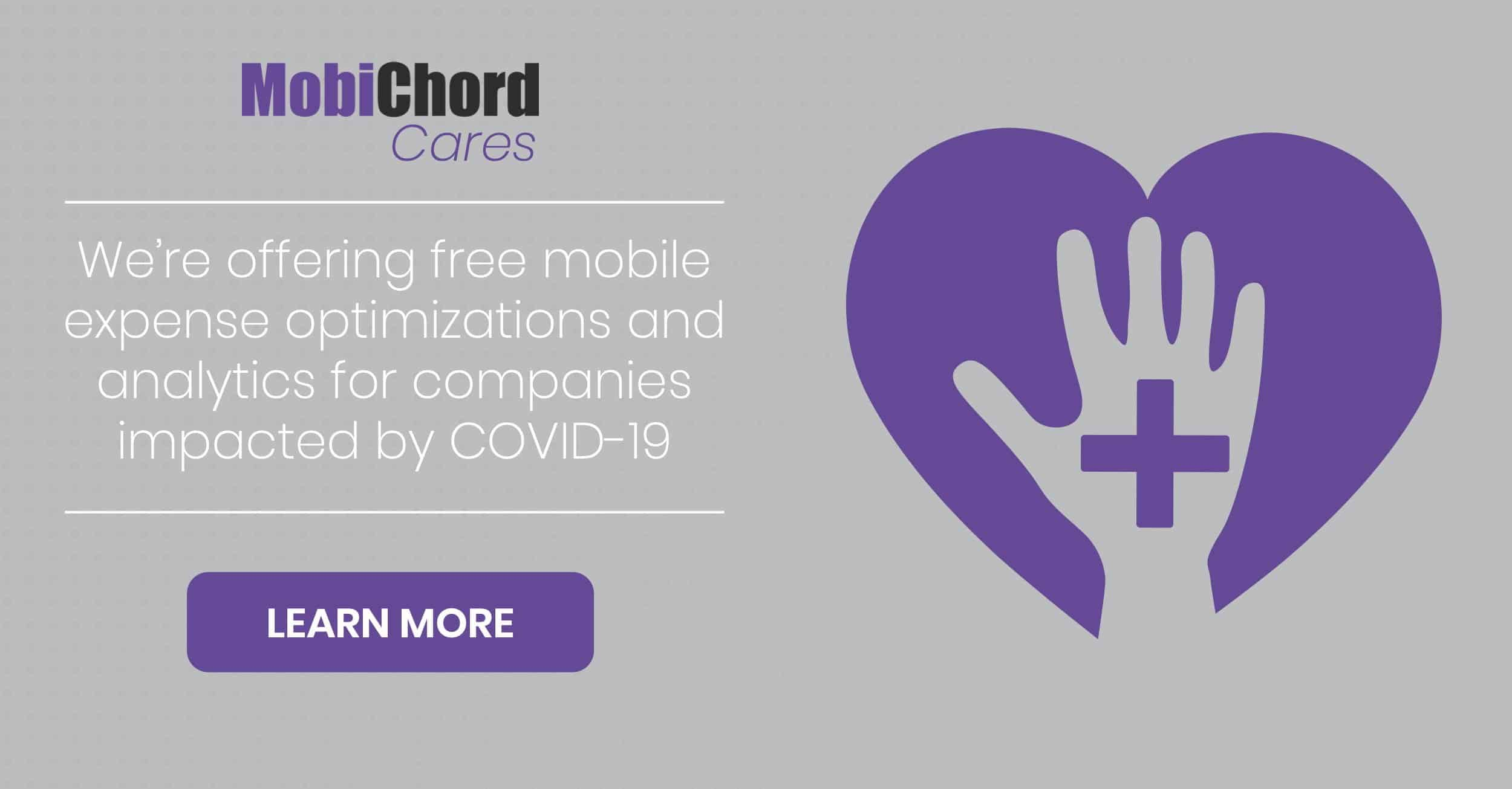 MobiChord Offers Free Mobile Analytics/Cost Optimizations to Ease COVID-19 Costs
